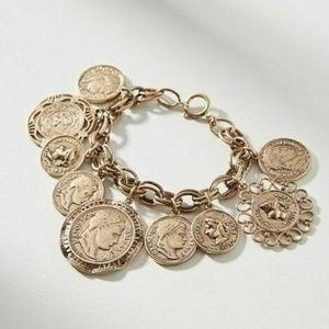 Anthropologie Heirloom Charm Bracelet - NWT